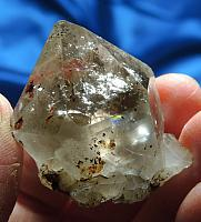 Rainbowed Light Smoky Sacred Shaman Zagi Mountain Quartz